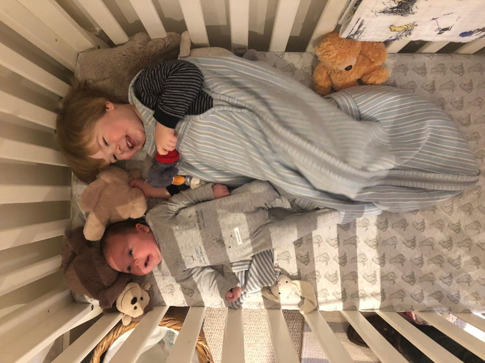 New mum diary - juggling two babies