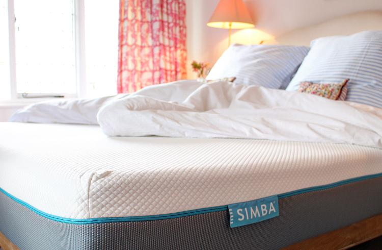 Our pink bedroom - Simba mattress review