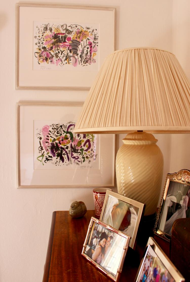 Our pink bedroom - chest of drawers