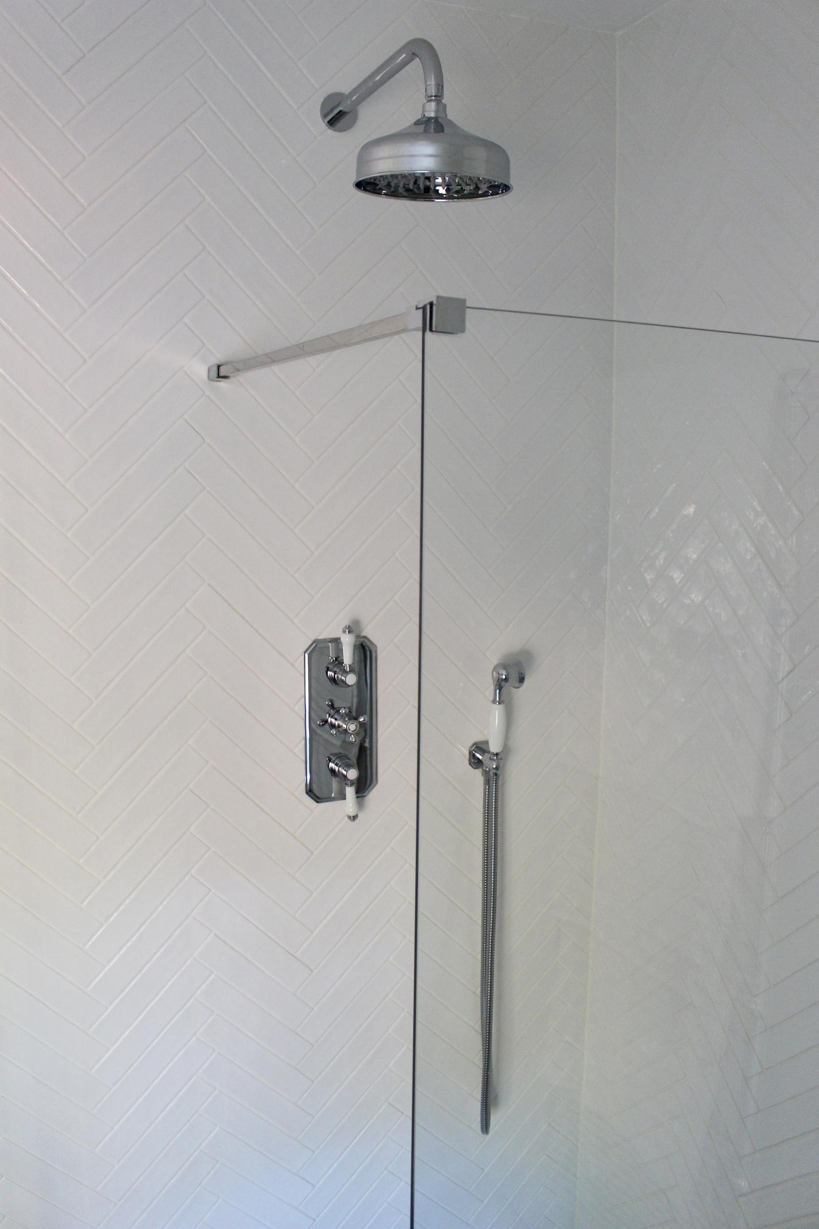 New family bathroom - Cassellie shower enclosure