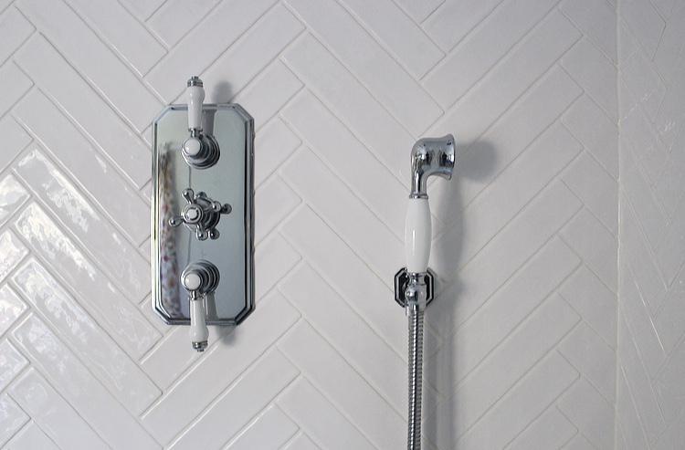 New family bathroom - Trafalgar Traditional Shower Package