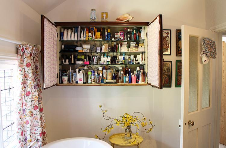 New family bathroom - pharmacy cabinet contents