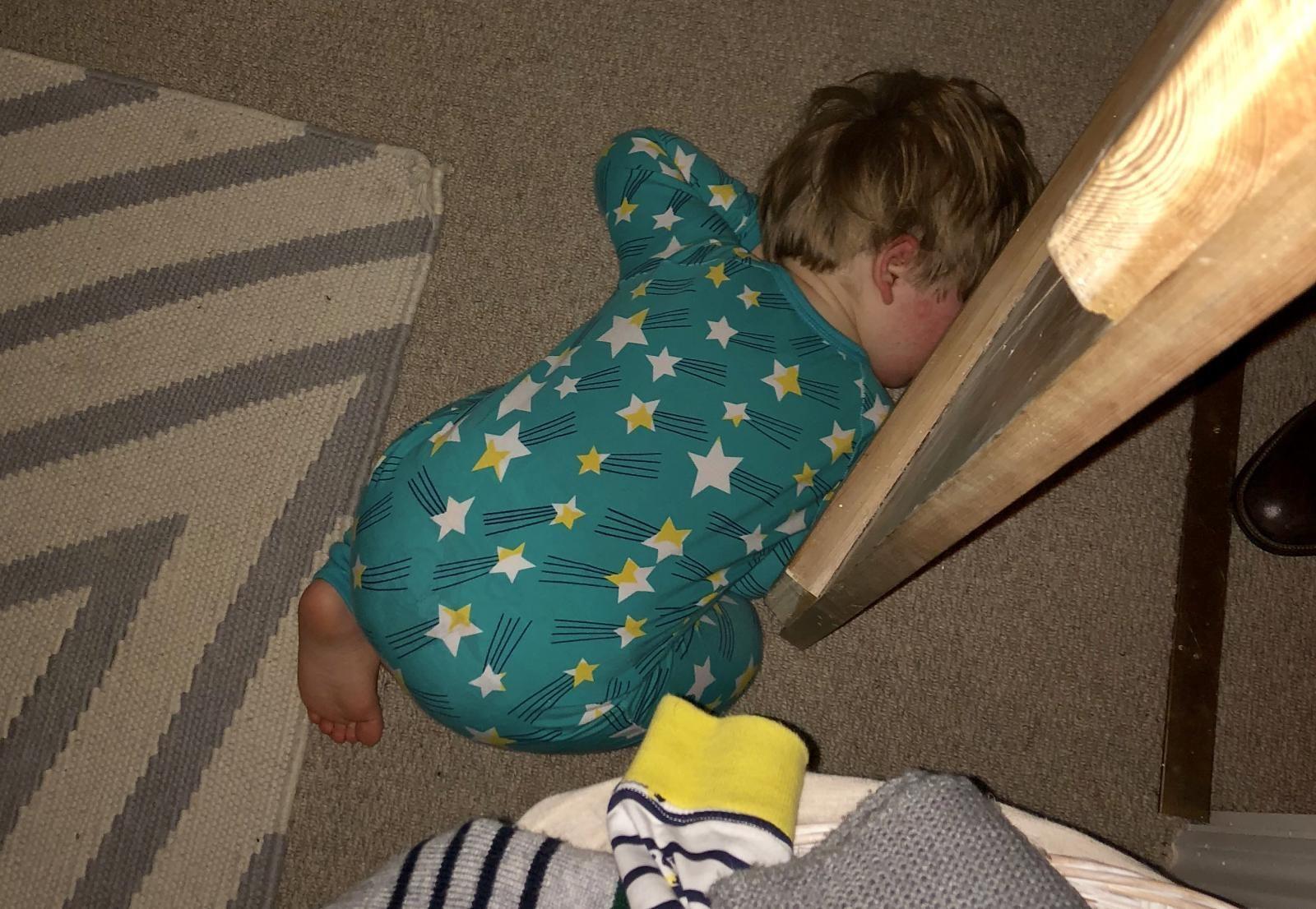 Floor sleeping phase