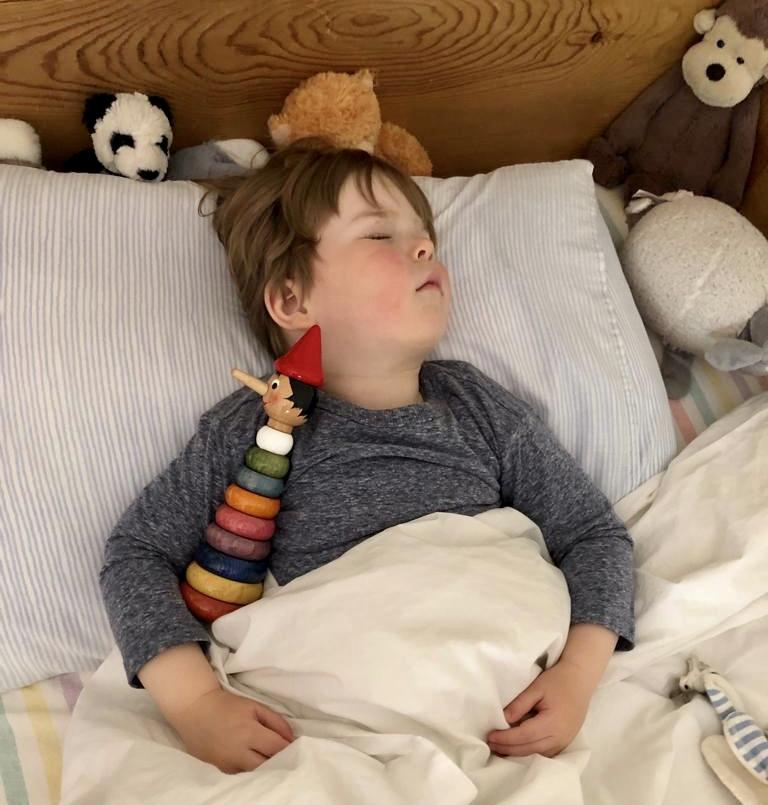 Transition from cot to bed complete