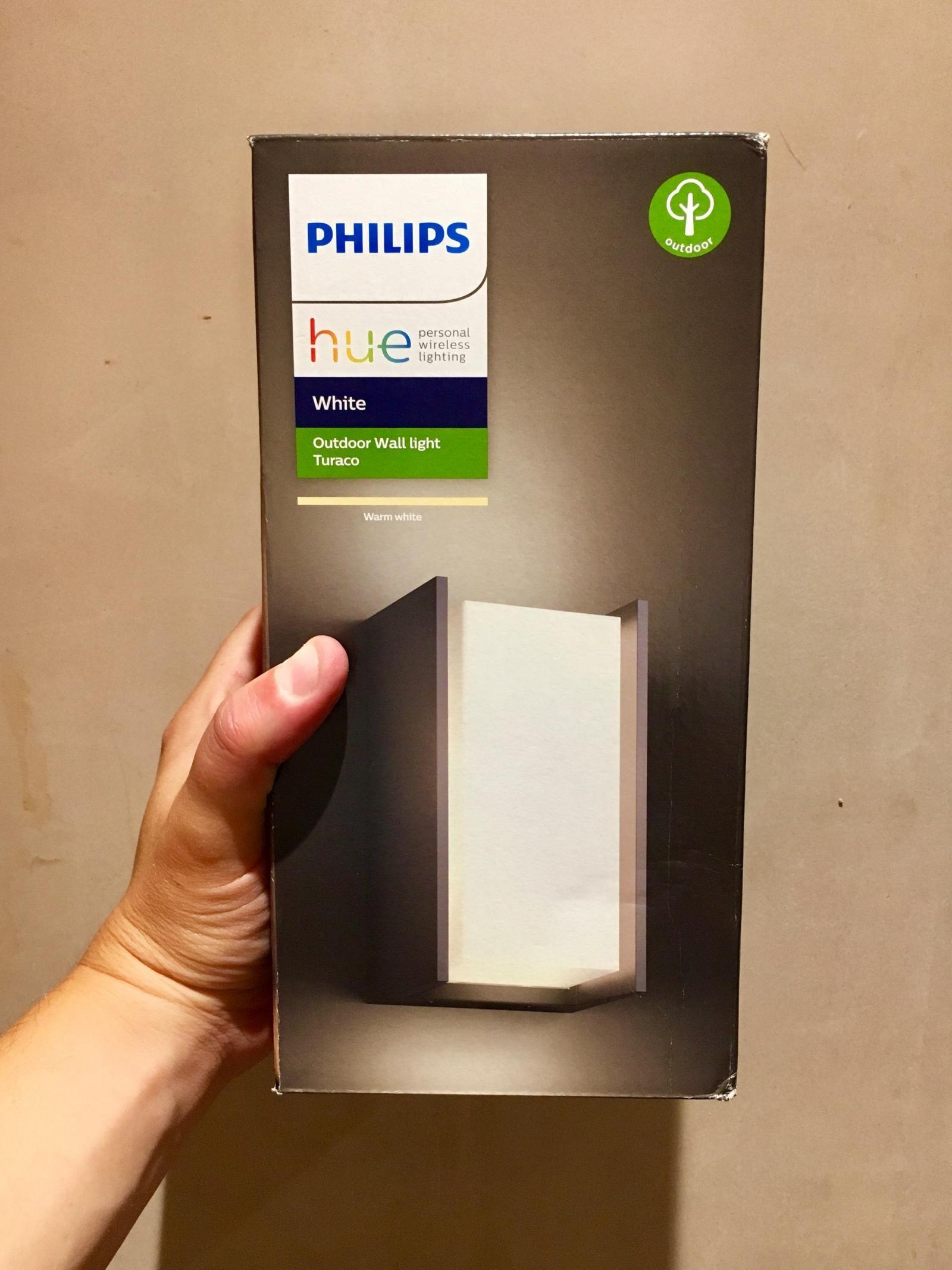 Philips Hue Outdoor Wall Light