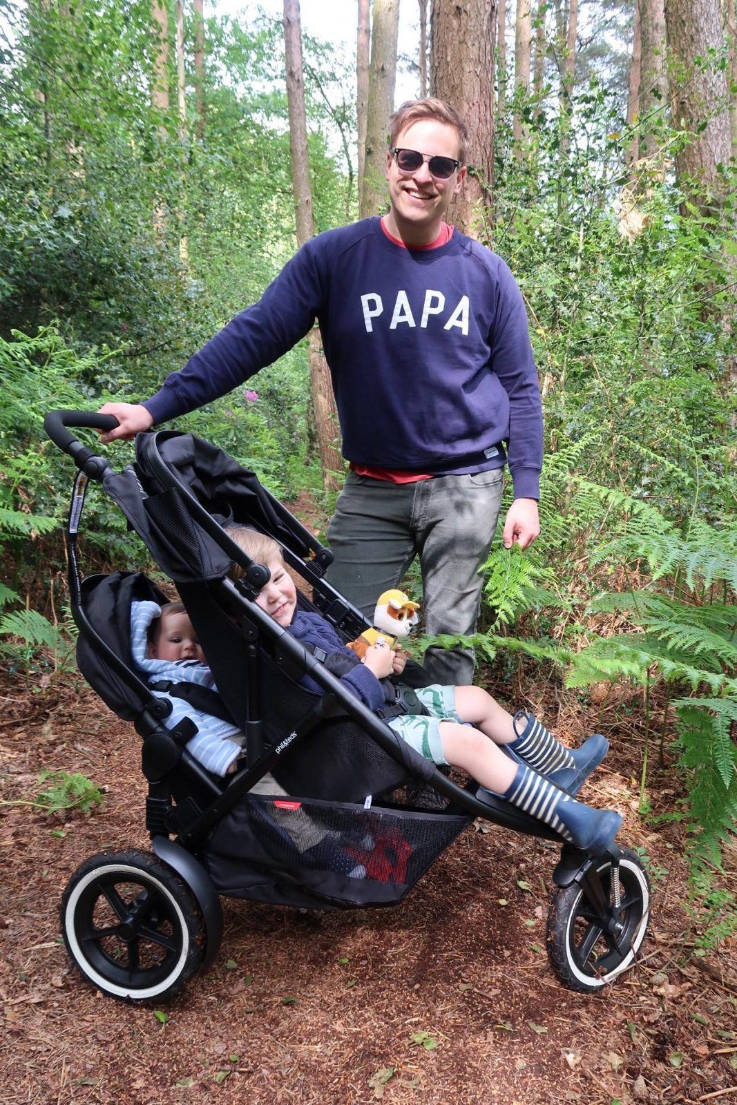 phil&teds sport inline double buggy
