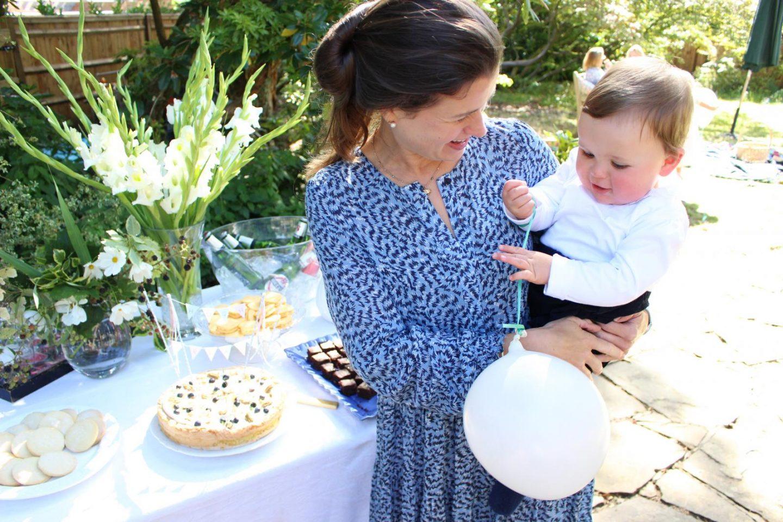Hugh's christening