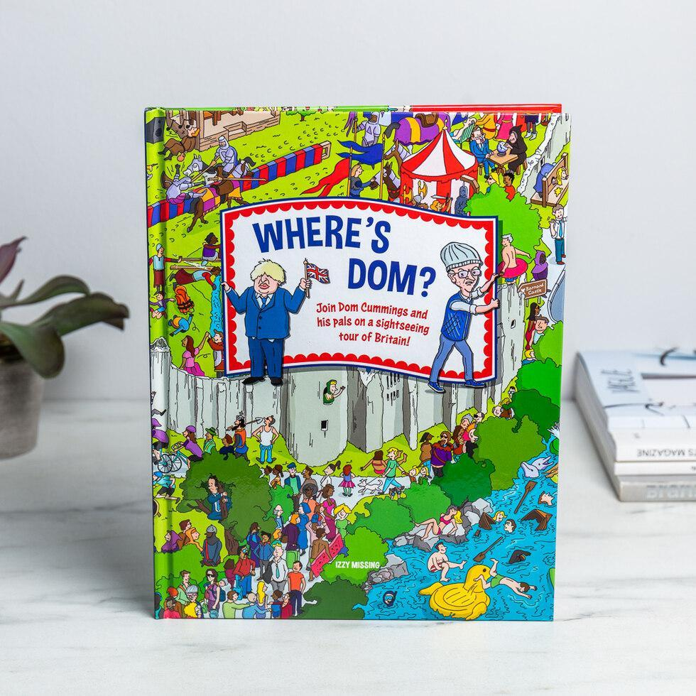 Thoughtful gifts for men - Where's Dom? Book