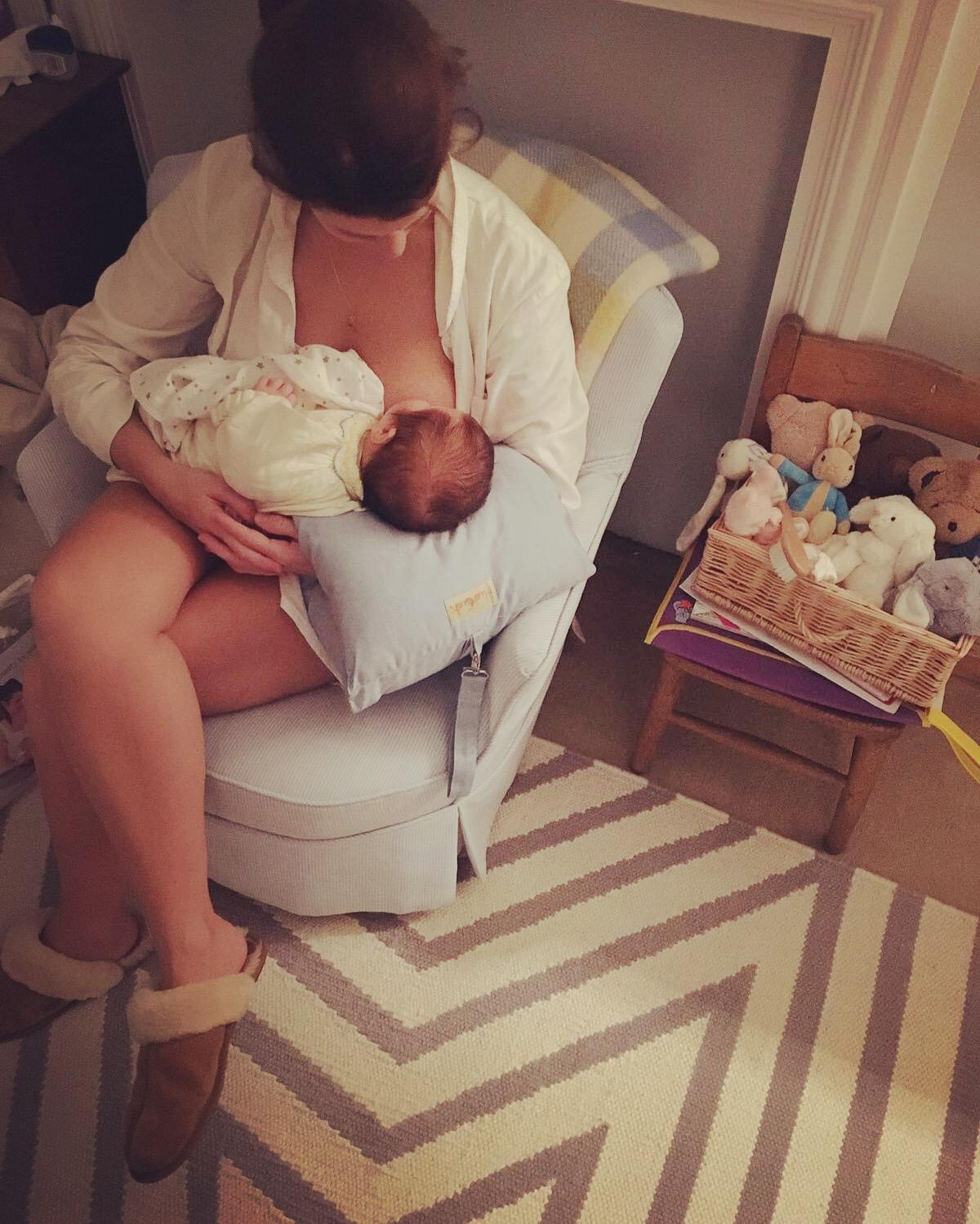Our Breastfeeding Story – big tits, occasional tears and little triumphs
