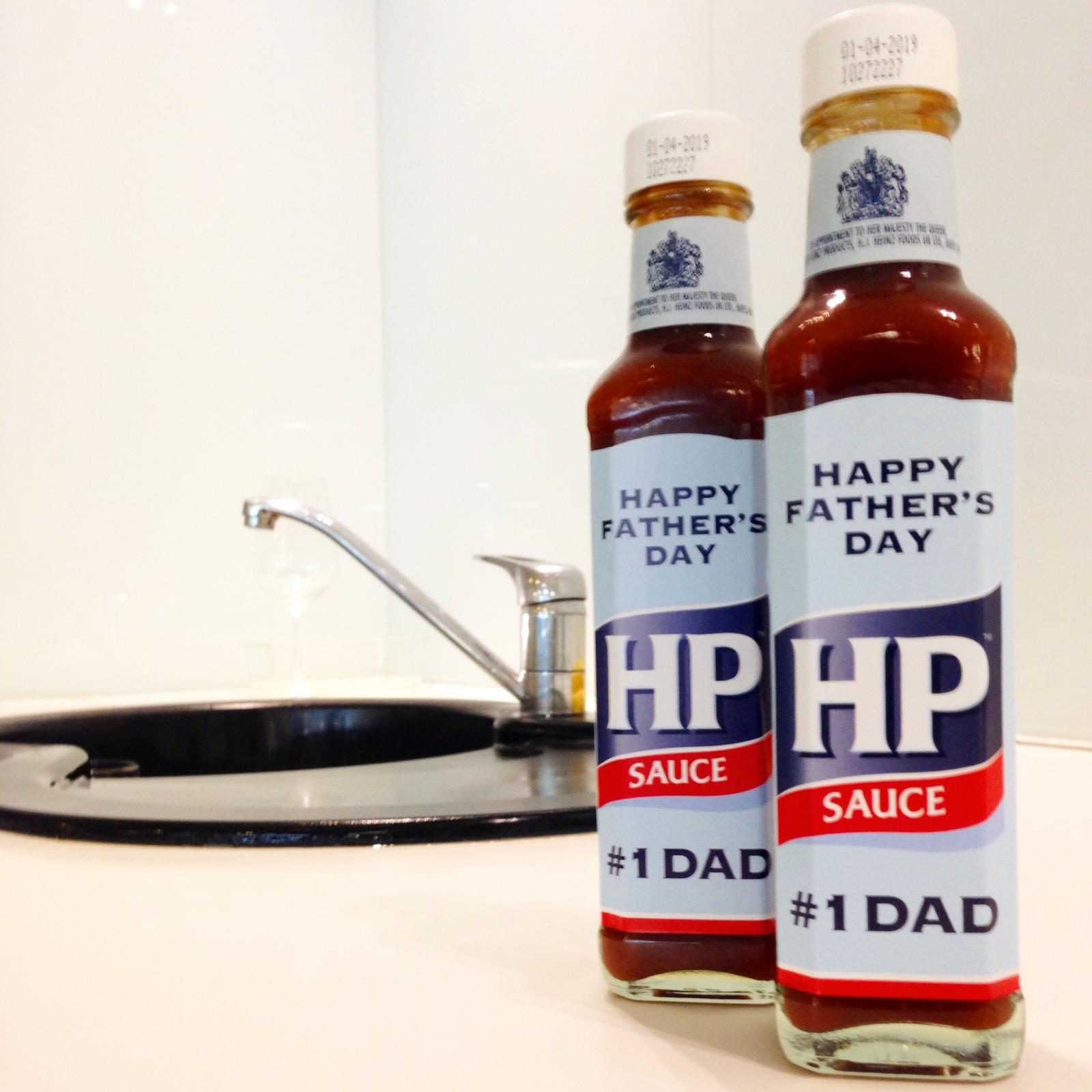 Forgot to buy a present for Father's Day? NEVER FEAR! Enter my exclusive competition today to win a money can't buy gift that every dad will love, courtesy of Heinz HP Sauce!