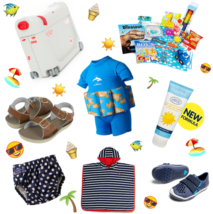 Holidays with toddlers: everything you need to pack for a stress-free summer getaway!