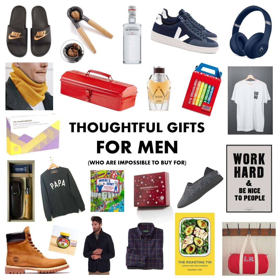 Thoughtful gifts for men (who are impossible to buy for)